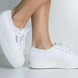 White Superga Acot Linea Sneakers